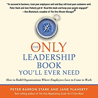 The Only Leadership Book You'll Ever Need audiobook cover art