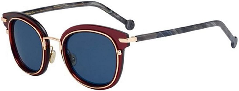 New Christian Dior ORIGINS 2 788 IR Burgundy Dark Grey bluee Grey Sunglasses