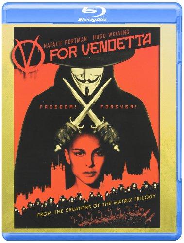 Warner Home Video Mc-v For Vendetta [blu-ray/ws-2.40/tdkr Movie Cash]
