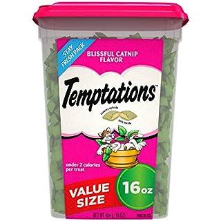 TEMPTATIONS Classic Crunchy and Soft Cat Treats Blissful Catnip Flavor, 16 Oz. Tub (B01LNB6T5O) | Amazon price tracker / tracking, Amazon price history charts, Amazon price watches, Amazon price drop alerts