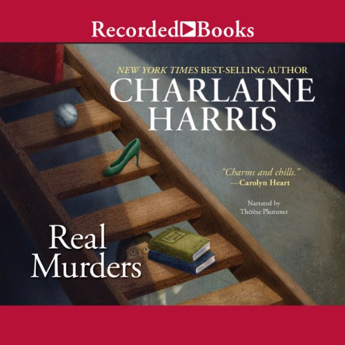 Real Murders     An Aurora Teagarden Mystery, Book 1              By:                                                                                                                                 Charlaine Harris                               Narrated by:                                                                                                                                 Therese Plummer                      Length: 6 hrs and 7 mins     2,585 ratings     Overall 3.9
