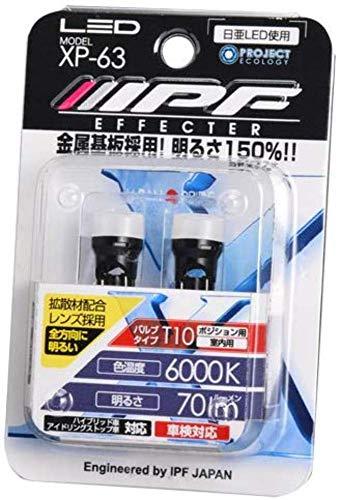 IPF LED High Power wedge 36000K T10xp-63