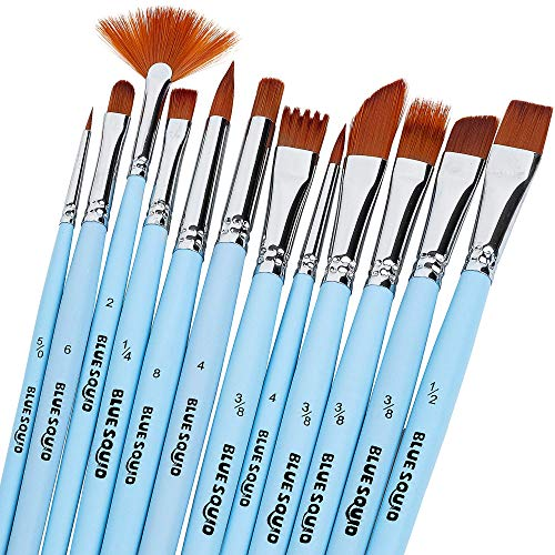 Plaid FolkArt One Stroke 1//2-Inch Rake Feather Brush