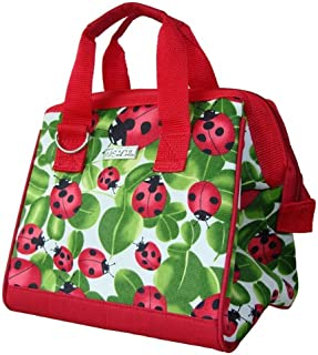 Sachi 34-029 Insulated Fashion Lunch Tote, Ladybug