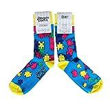 Penguin Socks Puzzle Socken - Lustige Socken für Frauen Größen: EU: 37-41