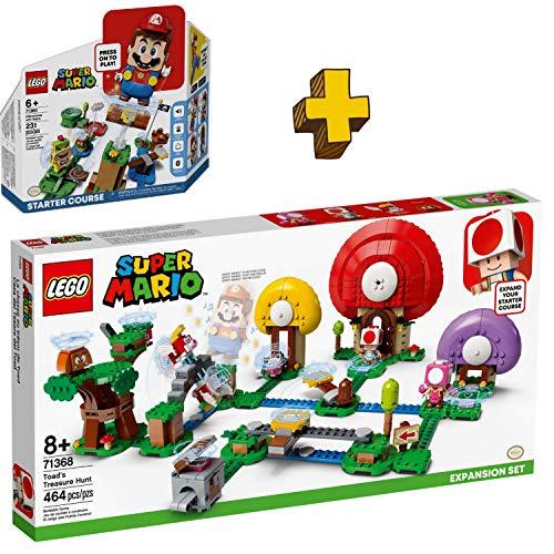LIBROLANDIA Lego Super Mario Pack (71368 Caza al Tesoro de Toad)