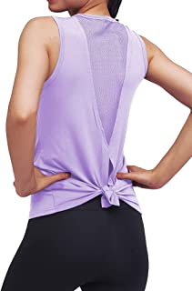 Mippo Workout Tops for Women Yoga Tank Tops Gym Shirs Workout Clothes