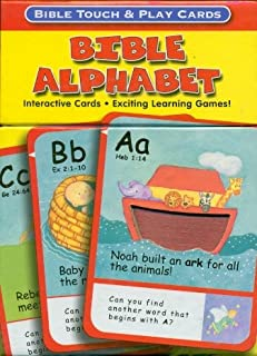 Bible Alphabet Bible Touch & Play Cards