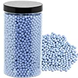 Clay Pebbles Rocks Gardening Ceramsite Orchid Hydroponic Grow Media Drainage Water Purification Ceramsite Decor Cultivation Soil Stone Horticultural Grade for Soil Hydroponics Aquaponics 2.2lb Blue
