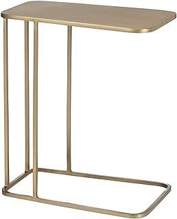 Bseack Tableau Table d'appoint Iron Art Mini Armoire latérale Table d'angle Simple Convient pour Le Salon Snack Table Tabl...