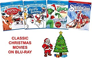 Classic Christmas Holiday Movies on Blu-Ray - Rudolph the Red-Nosed Reindeer / Frosty the Snowman / How the Grinch Stole