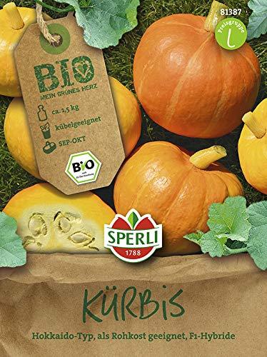 Kürbissamen - Bio-Kürbis Amoro von Sperli-Samen [MHD 01/2020]