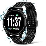 NASUM Fitness Watches, Reloj Inteligente, Frecuencia Cardíaca y Monitoreo del Sueño, Podómetro,...