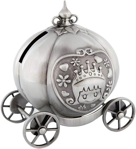 Venta barata Adornos de artesanía metálica,Caricatura de de de la alcancía creativa Cenicienta coche de la alcancía  calidad garantizada