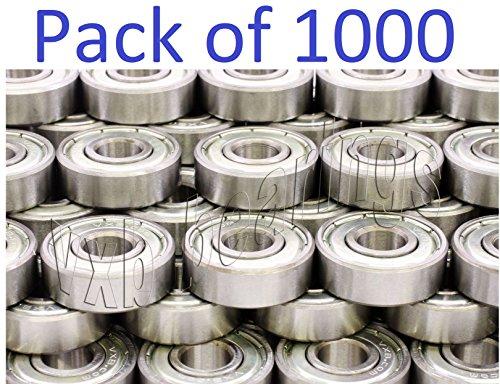 Wholesale Lot of 1000 pcs. 608ZZ Ball Bearing VXB Brand Used in All Skate, Skateboard
