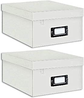Pioneer Photo Albums B-1S Photo Storage Box (White Bundle)