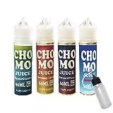 CHOMO JUICE (チョモ ジュース) 60ml 便利なニードルボトル付き 電子タバコ リキッド タール0 ニコチン0 日本製 (④ Chomogurt (チョモグルト))