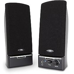 top 10 external pc speakers Cyber Acoustics CA-2014 Multimedia Desktop Speaker