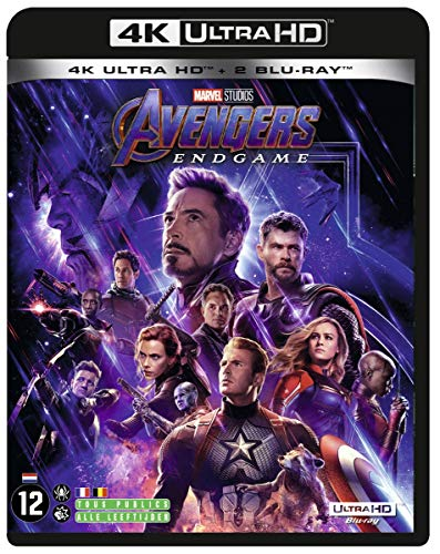 Avengers: Endgame 4K Includes Bonus Disk [Blu-ray]