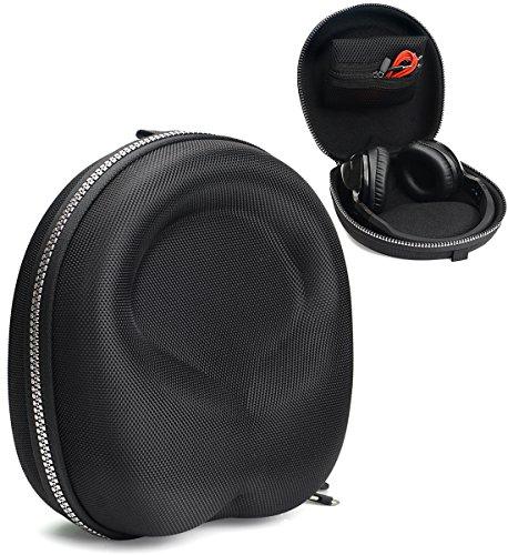 Skull Zip Headphone Case for Skullcandy Hesh3, Hesh 2, Hesh 2 Wireless, Crusher, Riff, Grind, Uproar Wireless; Jabra Move; GO 810, GO 600; Beats EP, Studio3, MPOW, Samsung Level on, Dylan, Picun P7