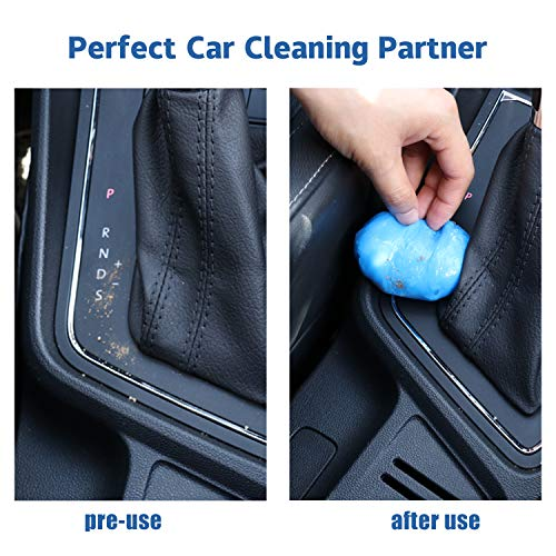 JUSTTOP Universal Cleaning Gel for Car, Detailing Putty Gel Detail Tools Car Interior Cleaner Laptop Cleaner(Blue)
