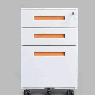 خزانات لحفظ الملفات المكتبية المكتبية المنزلية 3 طبقات، خزانة للملفات، خزانة الملفات، خزانة الملفات المحمولة ذات 3 أدراج م...