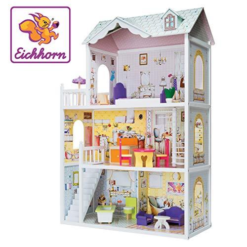 Eichhorn- Legno, Bambola, casa, Villa, Multicolore, 100002510