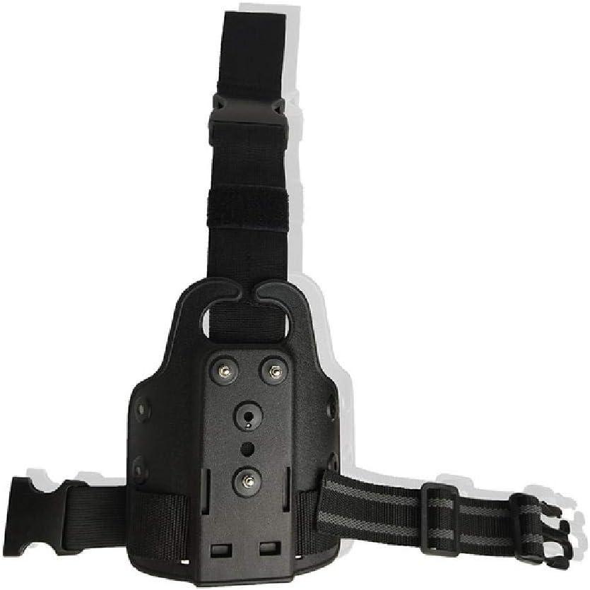 BGJ Funda Militar Safariland Airsoft Glock 17 Pistola Colt 1911 M9 P226 La Funda de Placa de Pierna USP Tiene tácticas instaladas