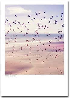 Canvas painting Nordic Style Sunset Sky Nature Poster Print Motivational Quotes Minimalist Wall Art Canvas Painting Pictur...