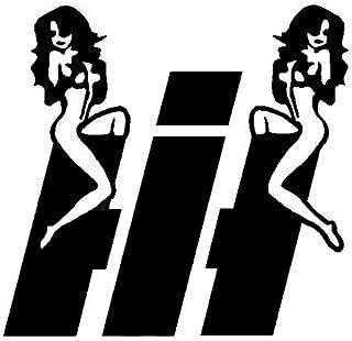 BD USA International Harvester Sexy Girls Decal, Decal Sticker Vinyl Car Home Truck Window Laptop
