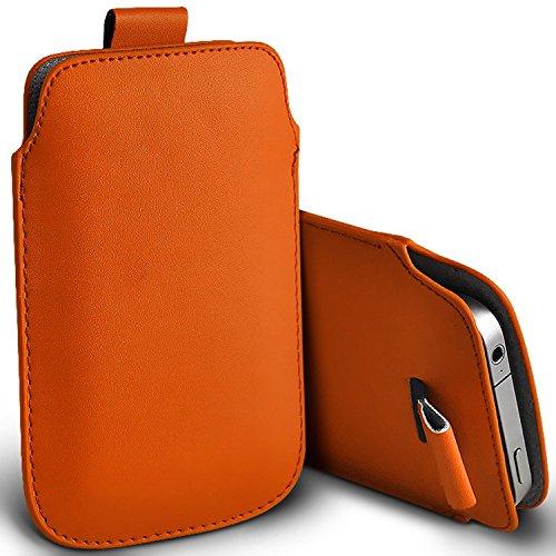 ( Orange ) Tasche Case für Doogee F3 Pro hülle, tasche Premium stilvolle Kunstleder Lasche Tasche Hülle Cover in verschiedenen Farben zu wählen, FromDoogee F3 pro hülle, tasche von i-Tronixs