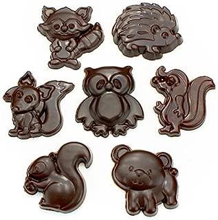 woodland chocolate molds