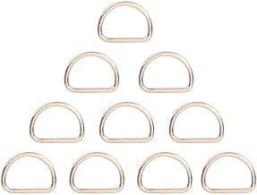 Healifty 20 st/ücke Metall d Ring Schultergurt d Form Ringe mehrzweck d Ring Schnalle f/ür DIY Handwerk Kleidung Rucksack zubeh/ör 25x14x2 8mm Bronze