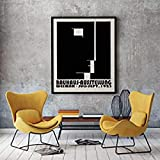 MFZJ Bauhaus-Ausstellungsposter 1923, Bauhaus-Druck,