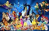 sanzangtang Puzzle 1000 pièces Belle Princesse drôle personnalité Cadeau Puzzle Puzzle en Bois Jouet éducatif75x50cm(30x20inch)