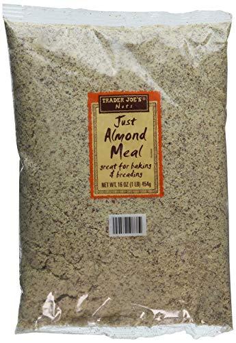 Trader Joe's Comida de almendra (1 libra), Pack De 2