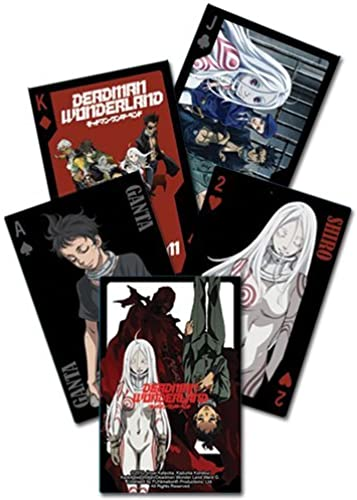 Deadman Wonderland Playing Cards by GE Animation