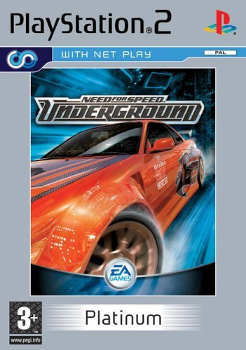 Need for Speed Underground Platinum (PS2) by Electronic Arts