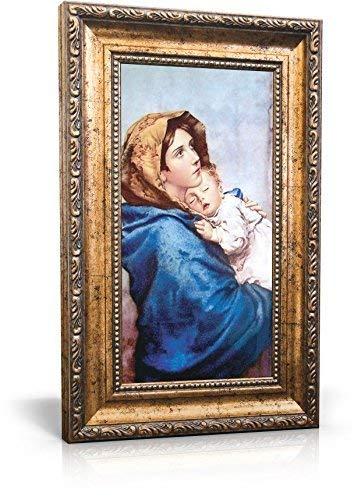 Madonna of the Streets - Tela emoldurada 15 x 28 cm (Incluindo moldura: 24 x 37 cm)