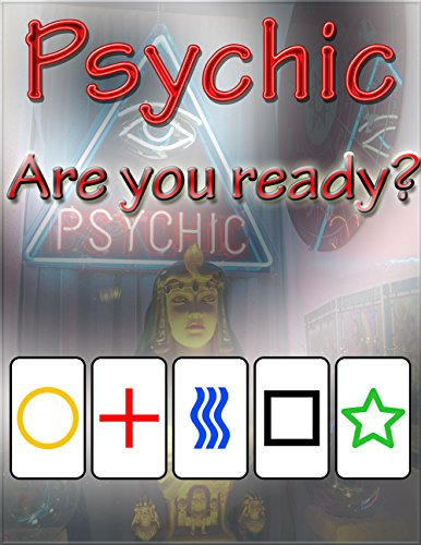 Psychic: A Test of Extrasensory Perception (ESP) Using Zener Cards (English Edition)
