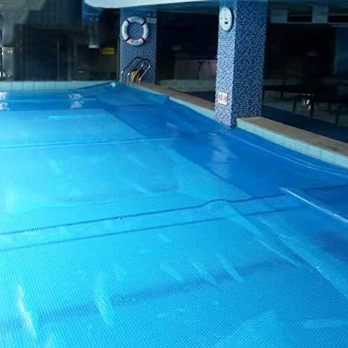 Zwembad Solar Cover - Zwembad Veiligheid Covers Verwarming Deken Voor Bovengrondse Zwembaden, Blauw