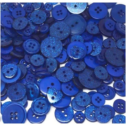 58d39cd92ff Roseys craft shop dark blue exclusive glitter deluxe embellishment button  collection of crafty buttons jpg 500x500