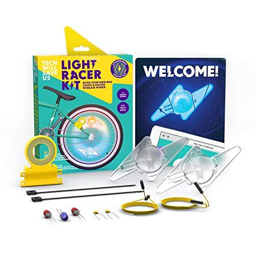 Tech Will Save UsRacer luz Kit | Educativos de DIY Luces para Bicicletas, 8 años en adelante