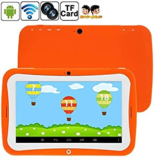 YINUO 7.0 inch Android 4.2.2 Kids Education Tablet 8GB, Built-learning Software, CPU: Rockchip RK3126 Quad Core, 1.3GHz(Orange)(Green)(Blue) (Color : Orange)