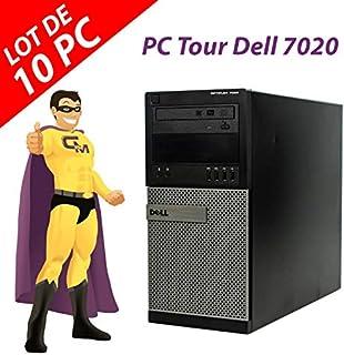 Dell - Lote de 10 PC torre 7020 Intel Pentium G3220 RAM 4 GB disco 250 GB Windows 10 (reacondicionado)