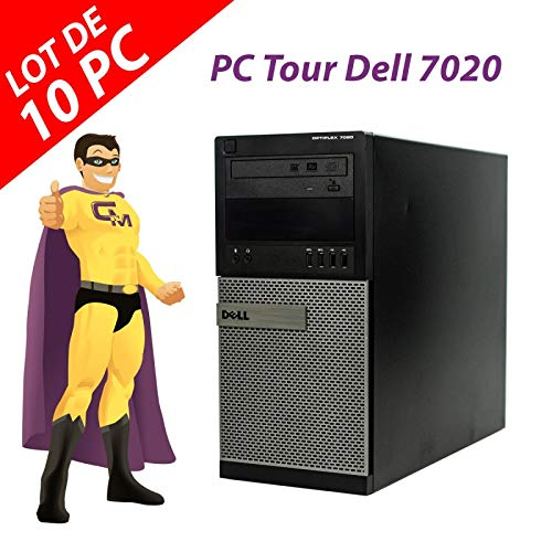 Dell PC-Tower 7020 Intel Pentium G3220 RAM 4 GB Festplatte 250 GB Windows 10 (wiederaufbereitet)