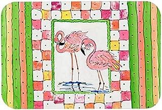 Caroline's Treasures 8077CMTBird-Flamingo Kitchen or Bath Mat, 20 by 30, Multicolor