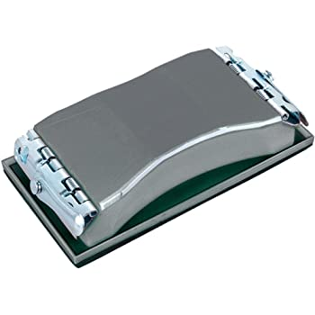 Wolfcraft 2891000 2891000-1 Bloque de lijar Manual, plata