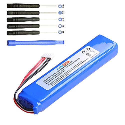 PowerTrust 1Pc 7.4V 5500mAh GSP0931134 Battery for JBL Xtreme Speakers Battery with Tools