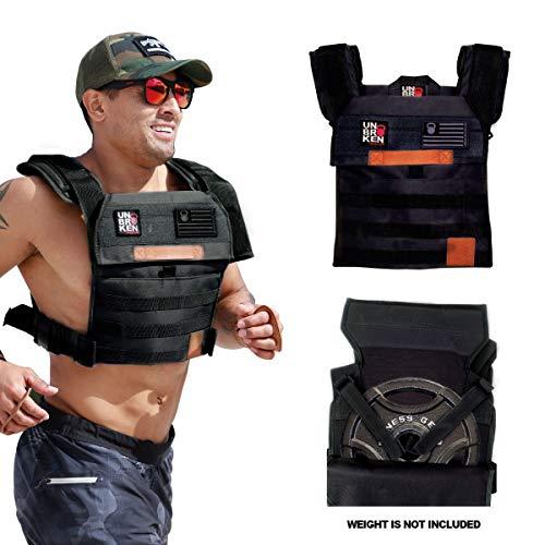 Unbrokenshop.com WOD Weight Vest Chaleco Colette (Black)